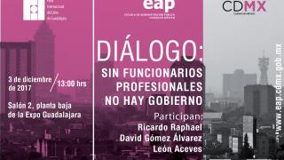 EAP invita a las actividades que realiza dentro  de la FIL de Guadalajara 2017