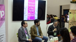 EAP presentan la Biblioteca Básica de las Metrópolis en la FIL de Guadalajara