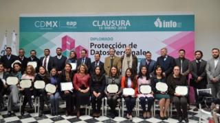 INFO y EAP clausuran 4ª edición del Diplomado en Protección de Datos Personales